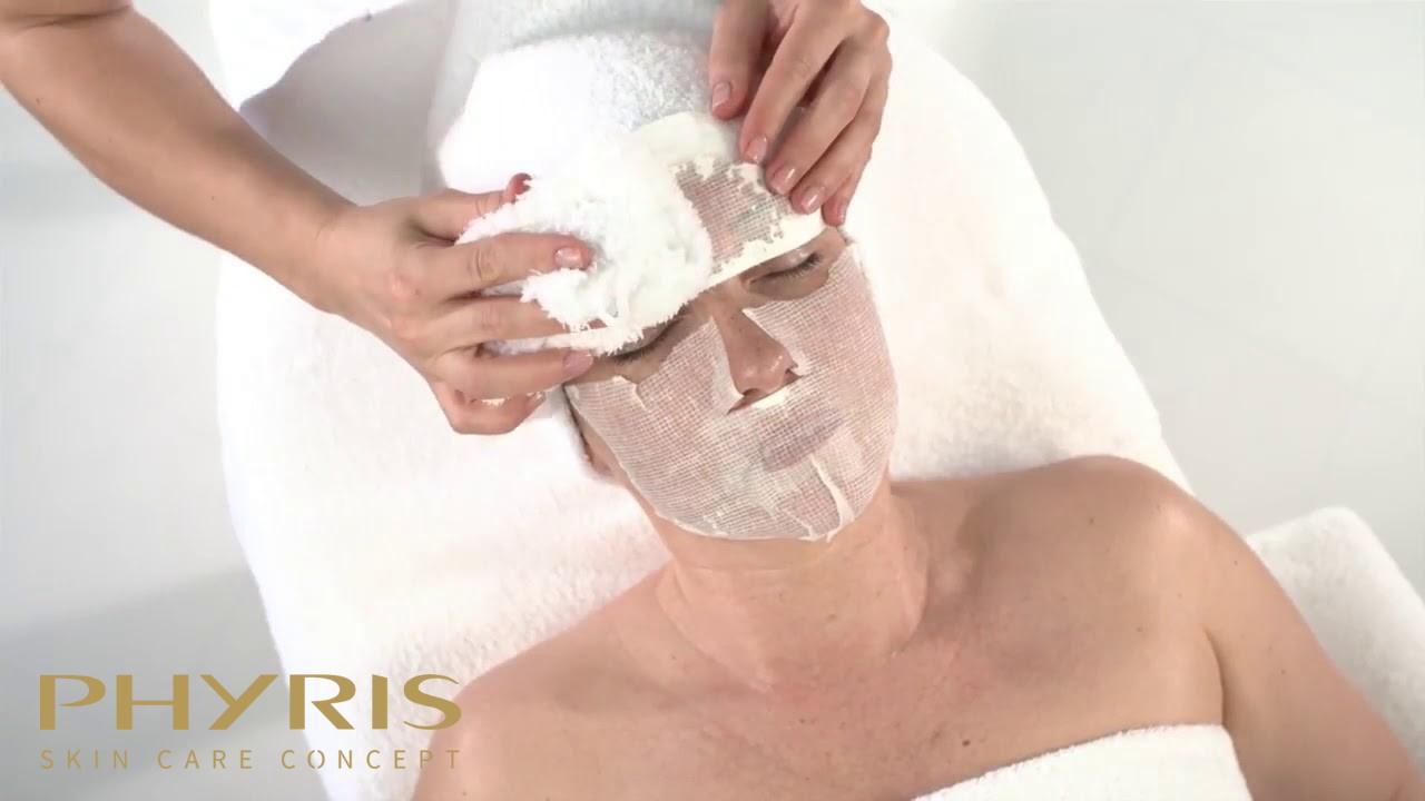 Mặt nạ Collagen của Phyris được sản xuất theo công nghệ đông khô giúp cấu trúc được bảo toàn.