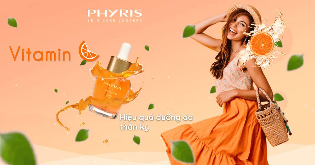 Vitamin Flash Serum phục hồi sức sống cho làn da với vitamin C thần kỳ.
