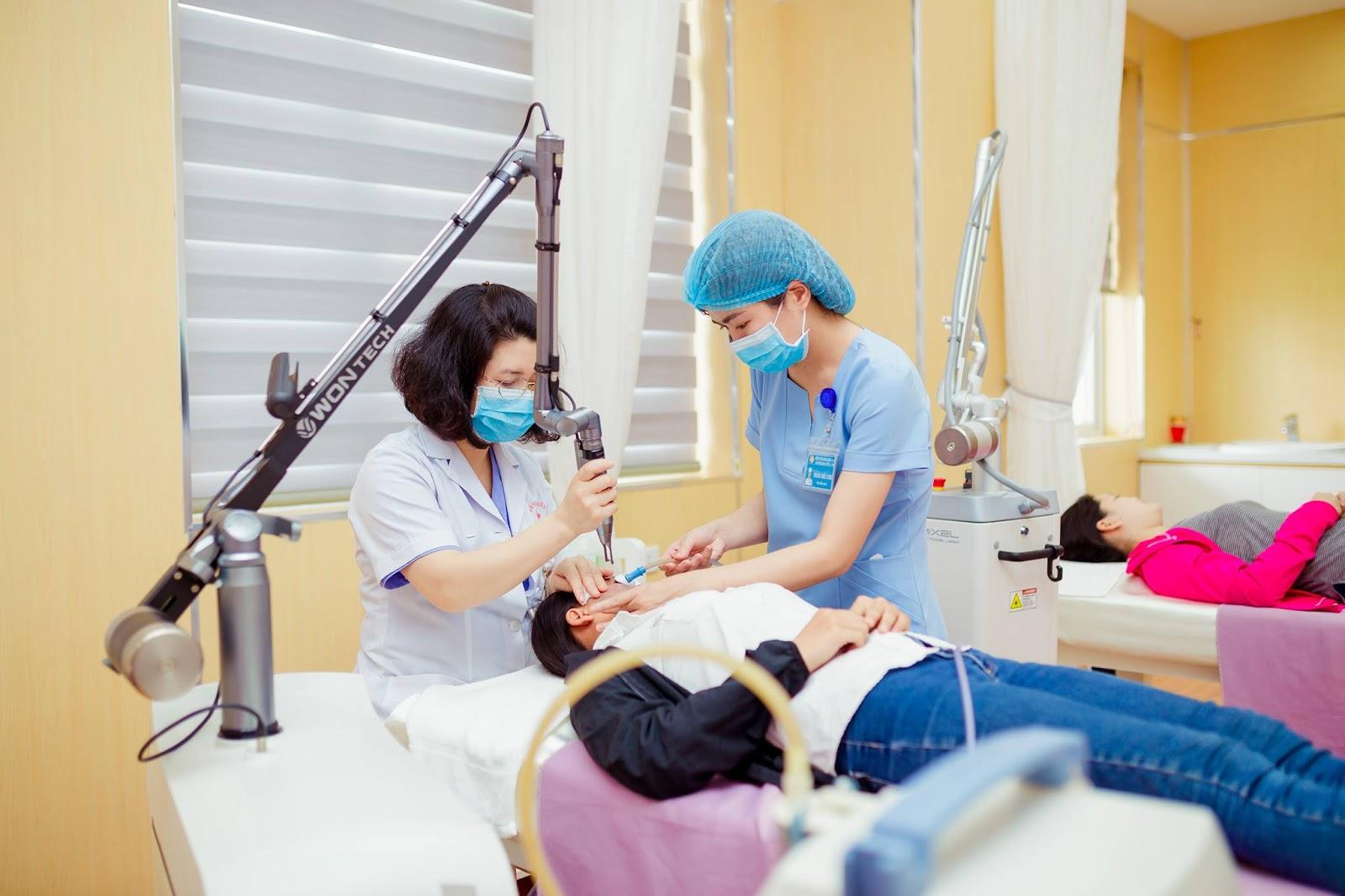 Ứng dụng các sản phẩm Phyris trong điều trị các bệnh về da.