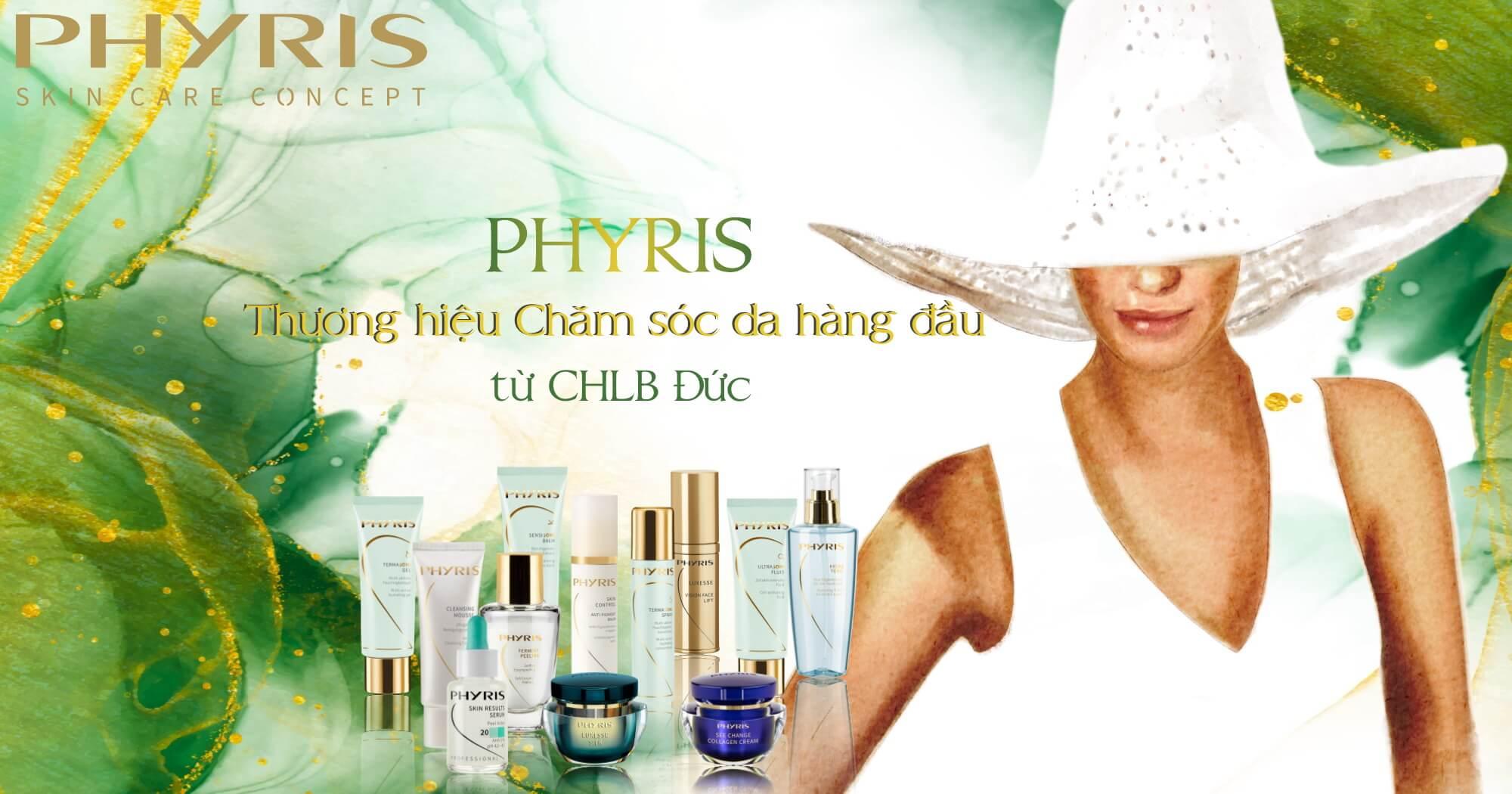 PHYRIS là một trong những là thương hiệu mỹ phẩm dưỡng da tốt nhất hiện nay.