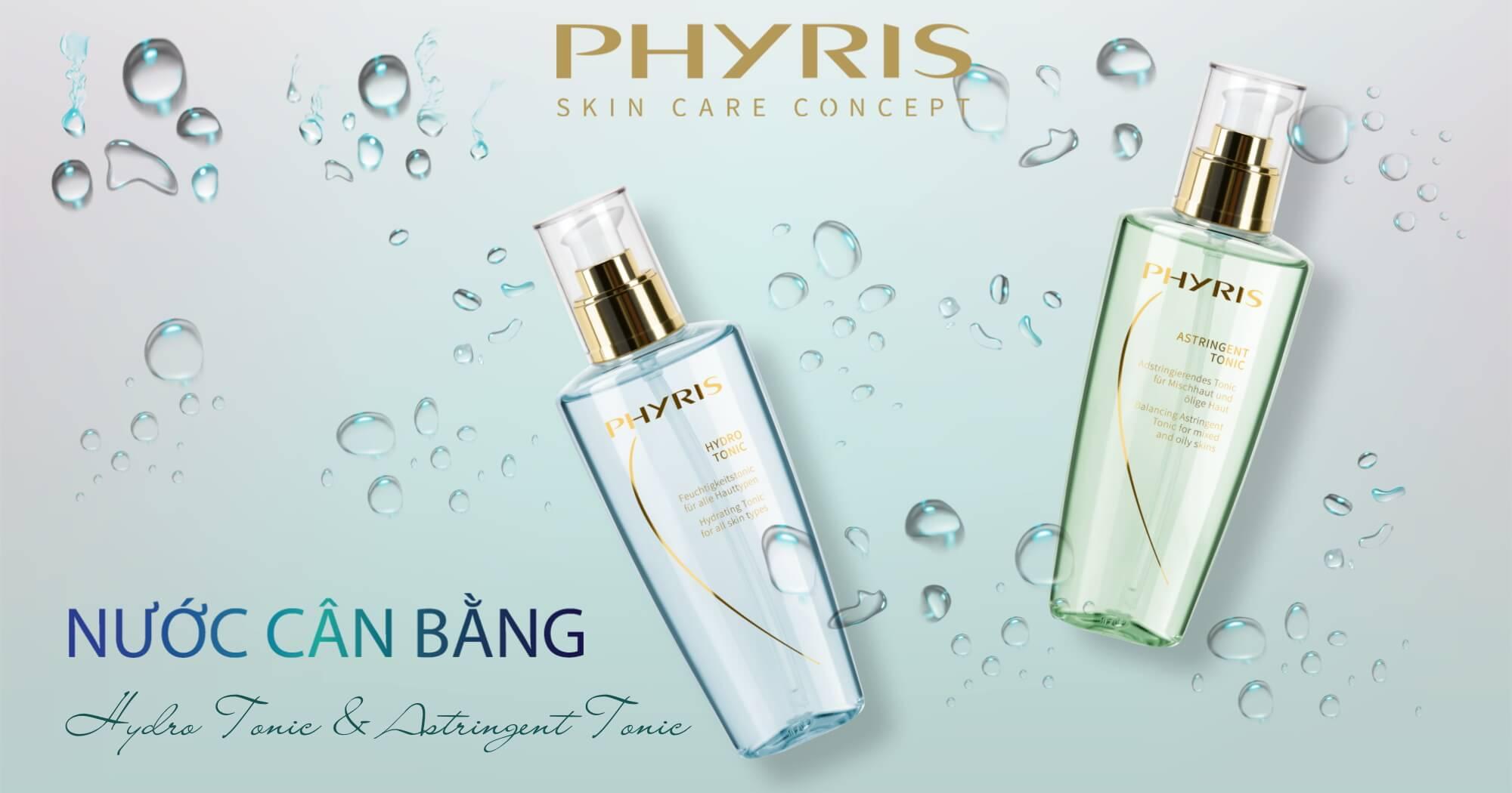 Cân bằng da tại nhà với các sản phẩm hiệu quả từ PHYRIS.