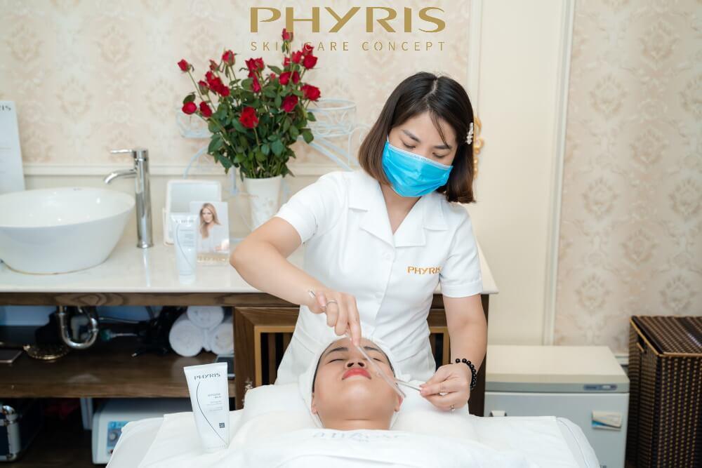 Các sản phẩm chăm sóc da của PHYRIS đều có thể áp dụng được vào trong quy trình chăm sóc da hiện đại tại các cơ sở làm đẹp.